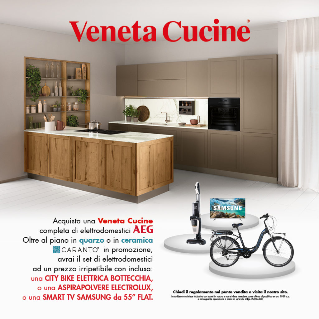 """PROMOZIONE VENETA CUCINE 2020: """"Scegli la Perfezione"""""""